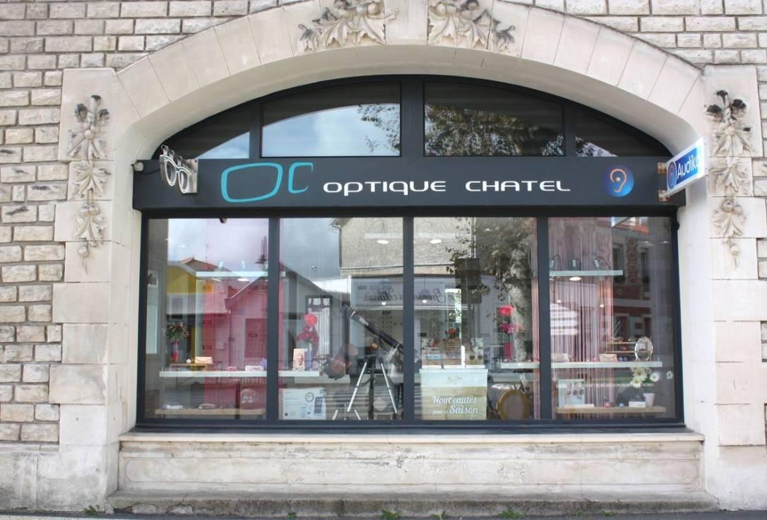 Devanture Optique Chatel