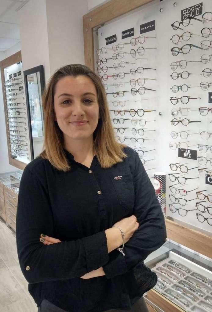 Alicia NAUZE, Opticienne-lunetière chez Optique Chatel à Châtelaillon